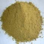 Protein removed for animal feed (fishmeal)